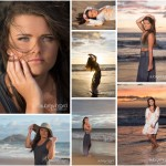 Senior Pictures at Sunset