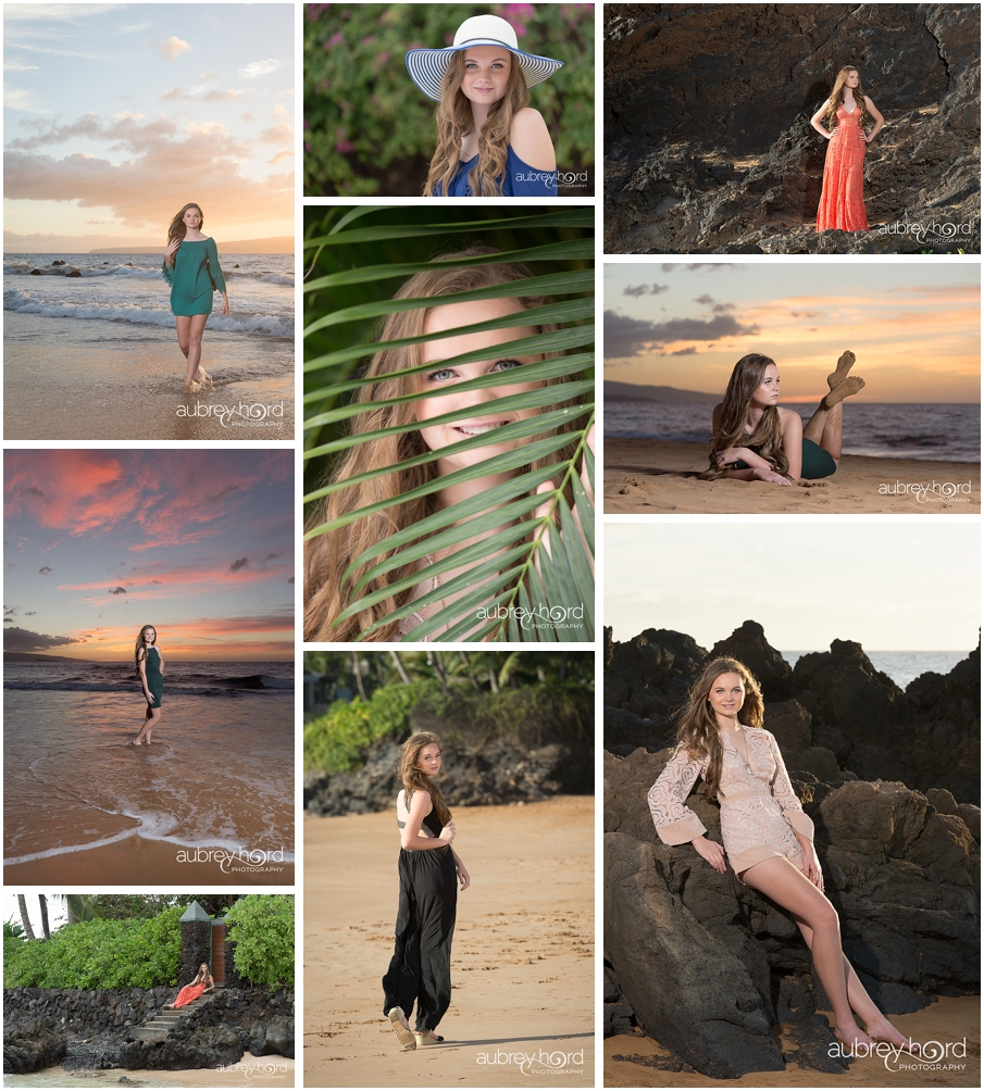 Senior Portraits in Wailea