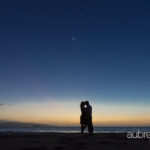 Maui Honeymoon Photography in Wailea at Twilight