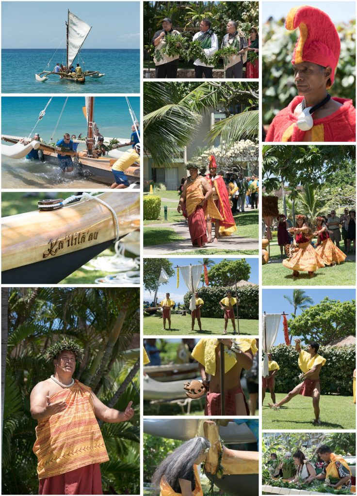 Closing Makahiki Ceremony Launching Kaililaau at Kaanapali Beach Hotel by Aubrey Hord Photography