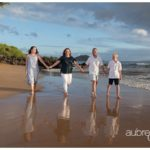 Maui Family Portraits at Changs Beach by Aubrey Hord