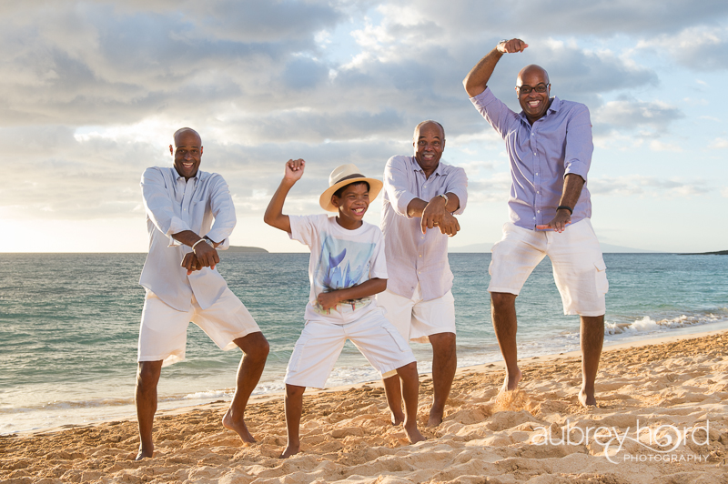 Playful Clients Make Family Portraits Fun Maui Photographer