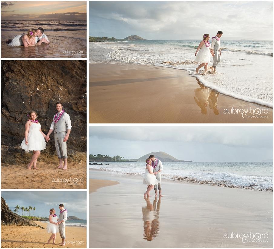 Maui Newlywed Session Paipu Beach Photographer Aubrey Hord Photography
